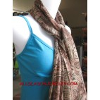 batik indonesian scarf design