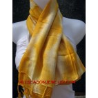 Cottons Scarf Yellow Color Mix