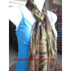 cotton scarves bali design batik