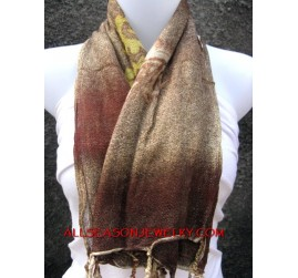 cotton scarves fashion handmade for ladies