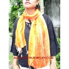 cotton scarves handmade Bali