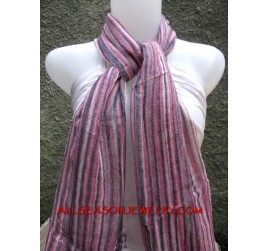 mesh cotton scarves