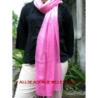 plain color scarves cotton women accessories