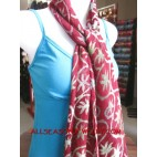 printed cotton scarves shawl bali