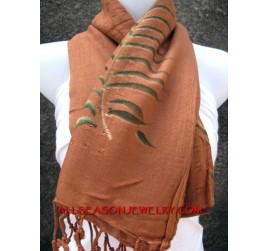 scarves shawl batik by hand painting cotton material