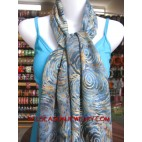 woman cotton scarf shawl batik bali