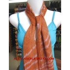 winter accessories cotton scarves hand painting