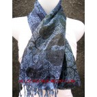 cotton shalw scarves for women with batik printing