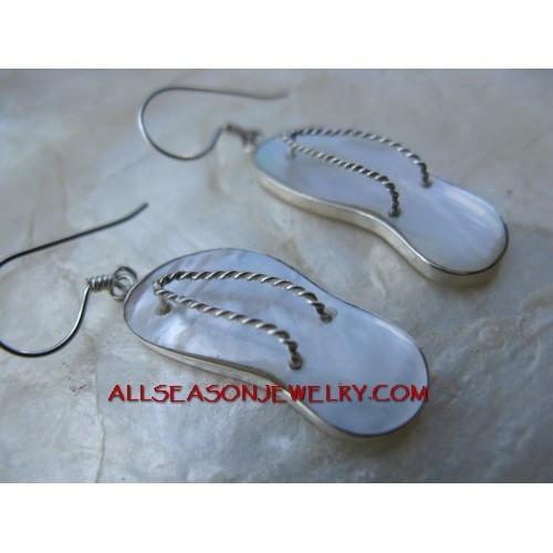 Shells Earring Sterling Silver
