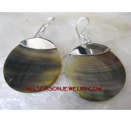 Silver925 Earring Shells