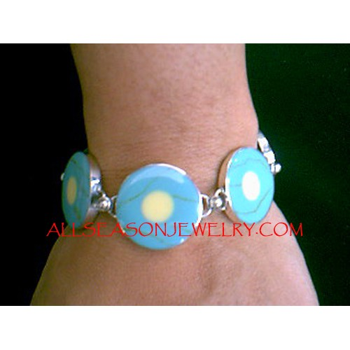 Turquoise Bracelets Silver