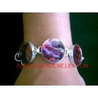 Silver925 Bracelet Seashells