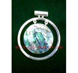 Pendants Abalone Silver925