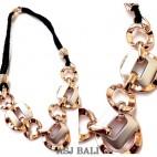 fashion women necklaces bling bling design
