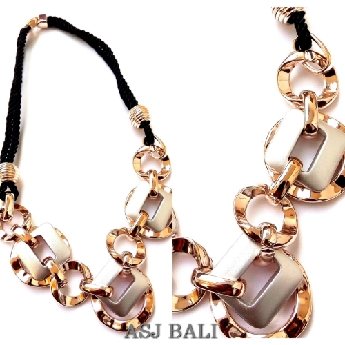 fashion women necklaces bling bling design