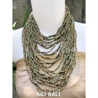 fashion necklaces beads doff mix multiple strand design