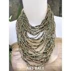 fashion necklaces beads doff mix multiple strand design