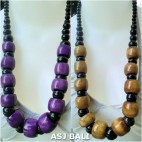 cow bone beads ball necklaces seed budha design