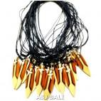 die shark teeth surfboard pendant necklace for men's