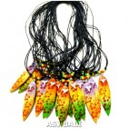 hawaii rasta surfboard handmade necklaces pendant