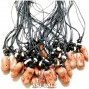 red coral shells pendant necklaces for men's