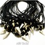 die shark teeth necklaces pendant large for men's