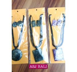 seashells sets 3designs necklaces earrings beads