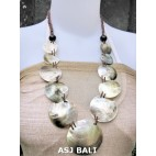 organic seashells balinese necklaces design