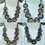 8coins sono wood natural necklaces with beads