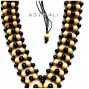 bali wooden beads color necklaces leather strings natural