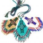 3color beads miyuki cross pendant fashion style handmade
