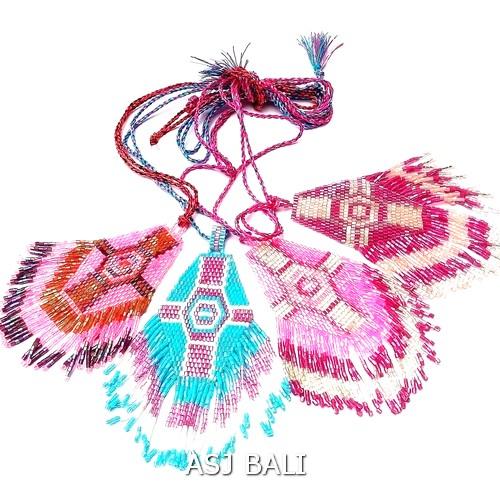 4color new necklaces pendant miyuki cross accessories
