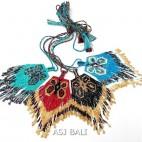 bali miyuki beads necklaces pendant butterfly design fashion accessories