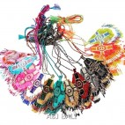 color collections necklaces pendant cross string miyuki beads