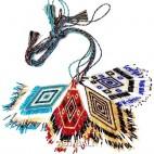 diamond shape pendant necklaces miyuki beads string