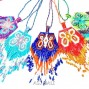 light color fashion necklaces miyuki beads pendant butterfly