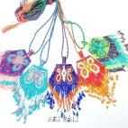 light color fashion necklaces miyuki beads pendant butterfly