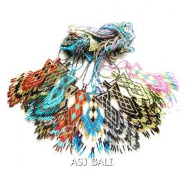 mix color collections miyuki beads necklaces pendant shape design