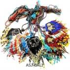 mix color collections necklace miyuki beads elephant pendant