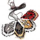 miyuki beads cross design necklaces pendant strings 3 color