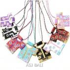 miyuki beads strings necklaces pendant baby cloth design