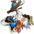 nylon string necklaces beads pendant miyuki elephant design