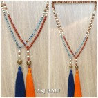 agate beads rudraksha fashion necklaces beads long seeds new style