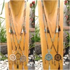 dream catcher fashion necklace mix beads handmade 5color
