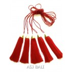 crystal beads necklaces pendant tassels women fashion new design