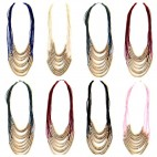 Long Strand Necklaces Multi