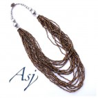 Beading Necklaces Multi Strand